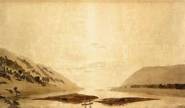 Mountainous River Landscape Day Version